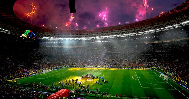 Daily Joke: Man Finds an Empty Seat Next to Him during the World Cup Finals