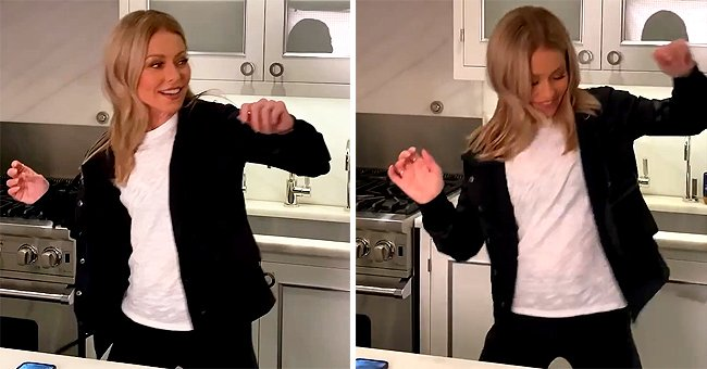 Kelly Ripa Shares Funny Video Encouraging Her Fans to Start Their Morning in a Positive Way