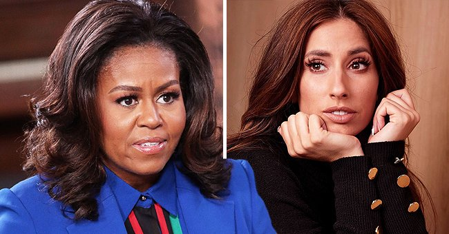 Stacey Solomon Is Surprised by Michelle Obama's Tribute to Her on Instagram from NHS Nurse