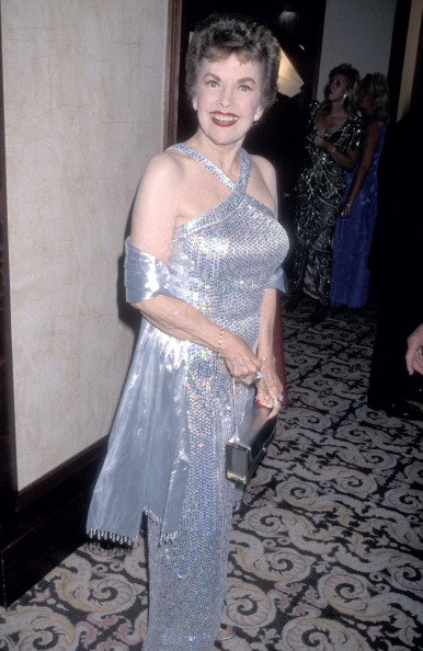 Actress Gale Storm at the 43rd Annual Thalians Ball on October 17, 1998 | Photo: Getty Images