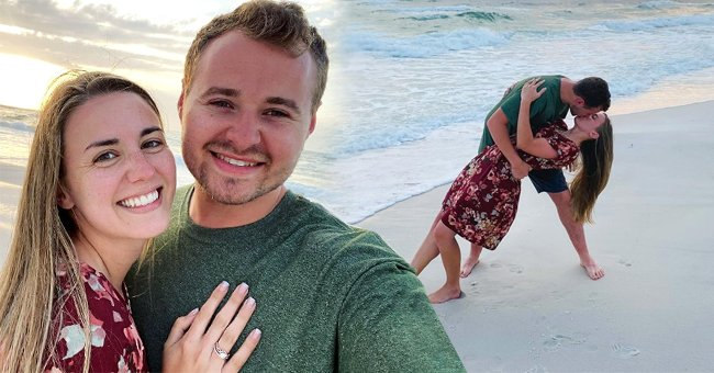 'Counting On' Star Jed Duggar Kisses Wife Katey Passionately on a Beach during Their Honeymoon