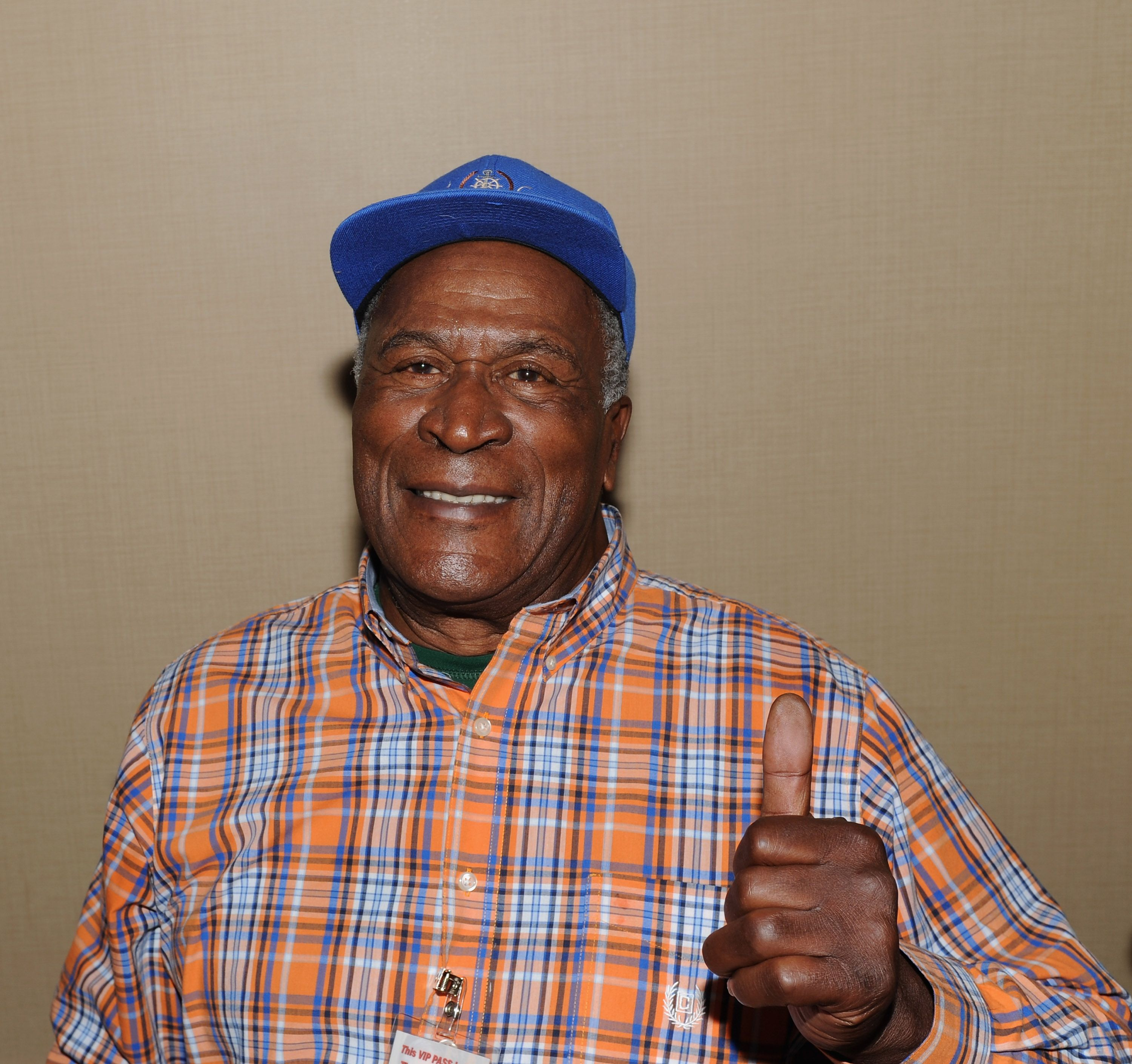 John Amos at Day 1 of the Chiller Theatre Expo at Sheraton Parsippany Hotel on October 23, 2015 | Photo: Getty Images