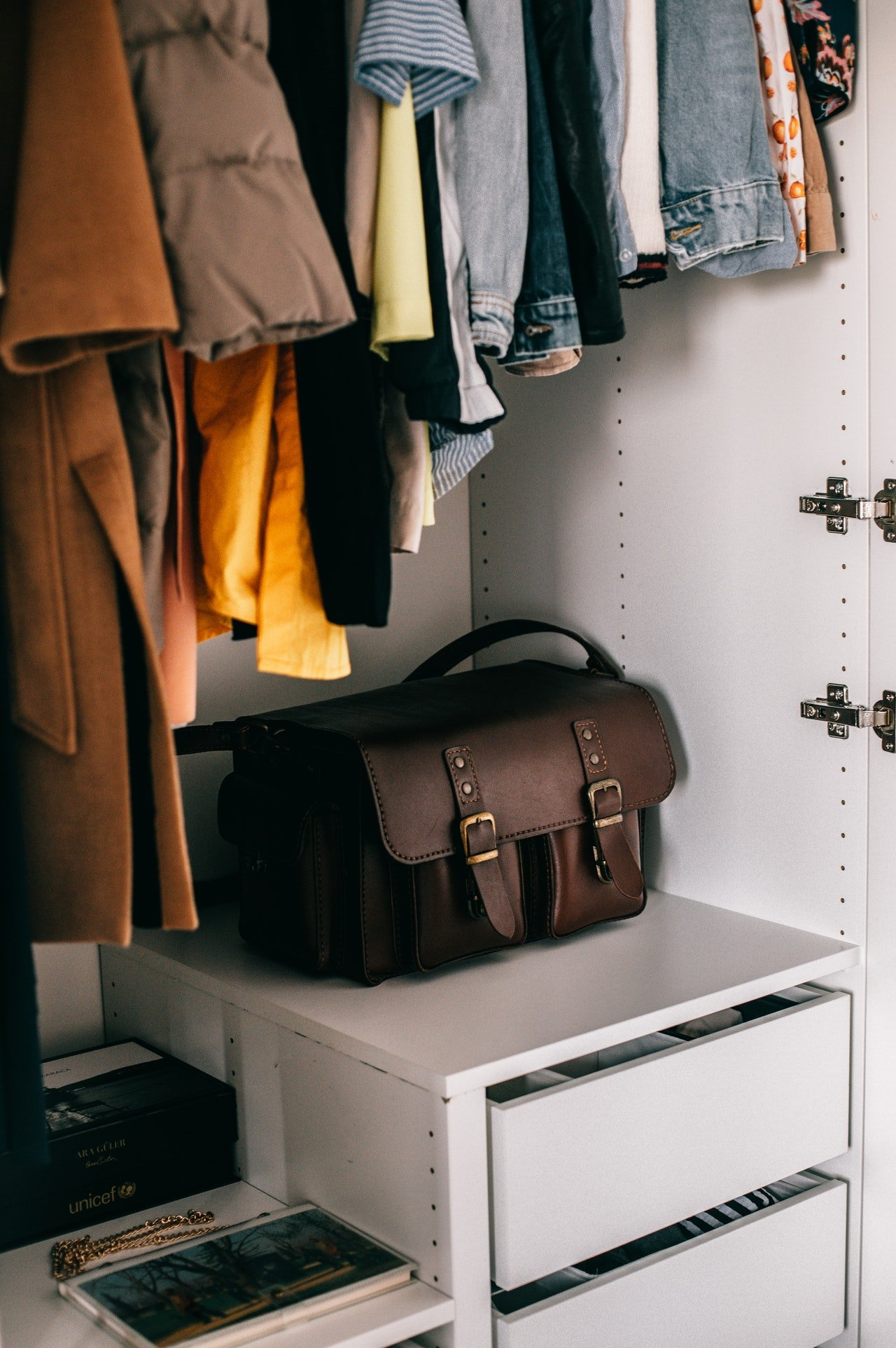 I noticed something odd in my closet. | Source: Pexels