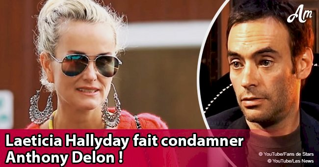 Laeticia Hallyday condamne Anthony Delon pour atteinte à sa vie privée