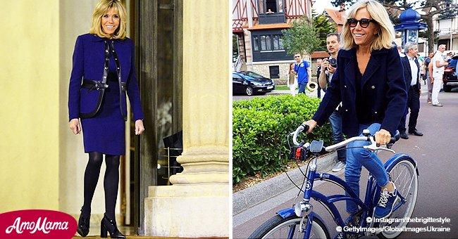 Brigitte Macron : ses looks les plus tendances quand elle préfère ne pas porter de vêtements professionnels