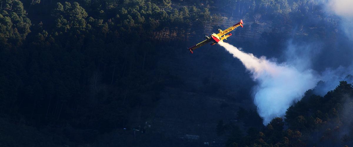 Les raisons du crash du bombardier d'eau, de la sécurité civile dans le Gard