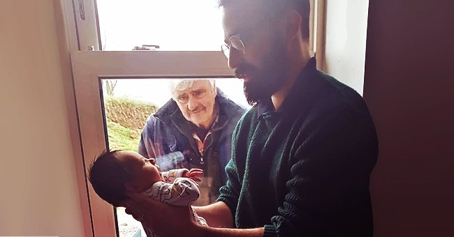 Irish Man Introduces Newborn Son to His Father through Window as They Keep Their Distance Amid COVID-19 Fears