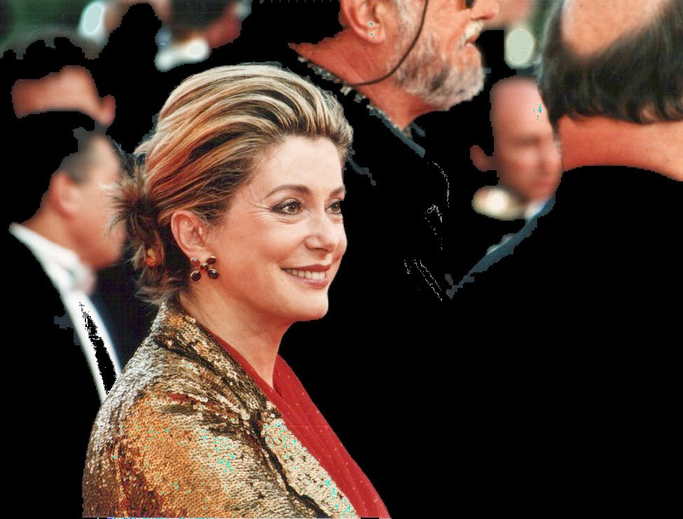 Catherine Deneuve au festival de Cannes, en 2000 | Source : Wikimedia Commons.