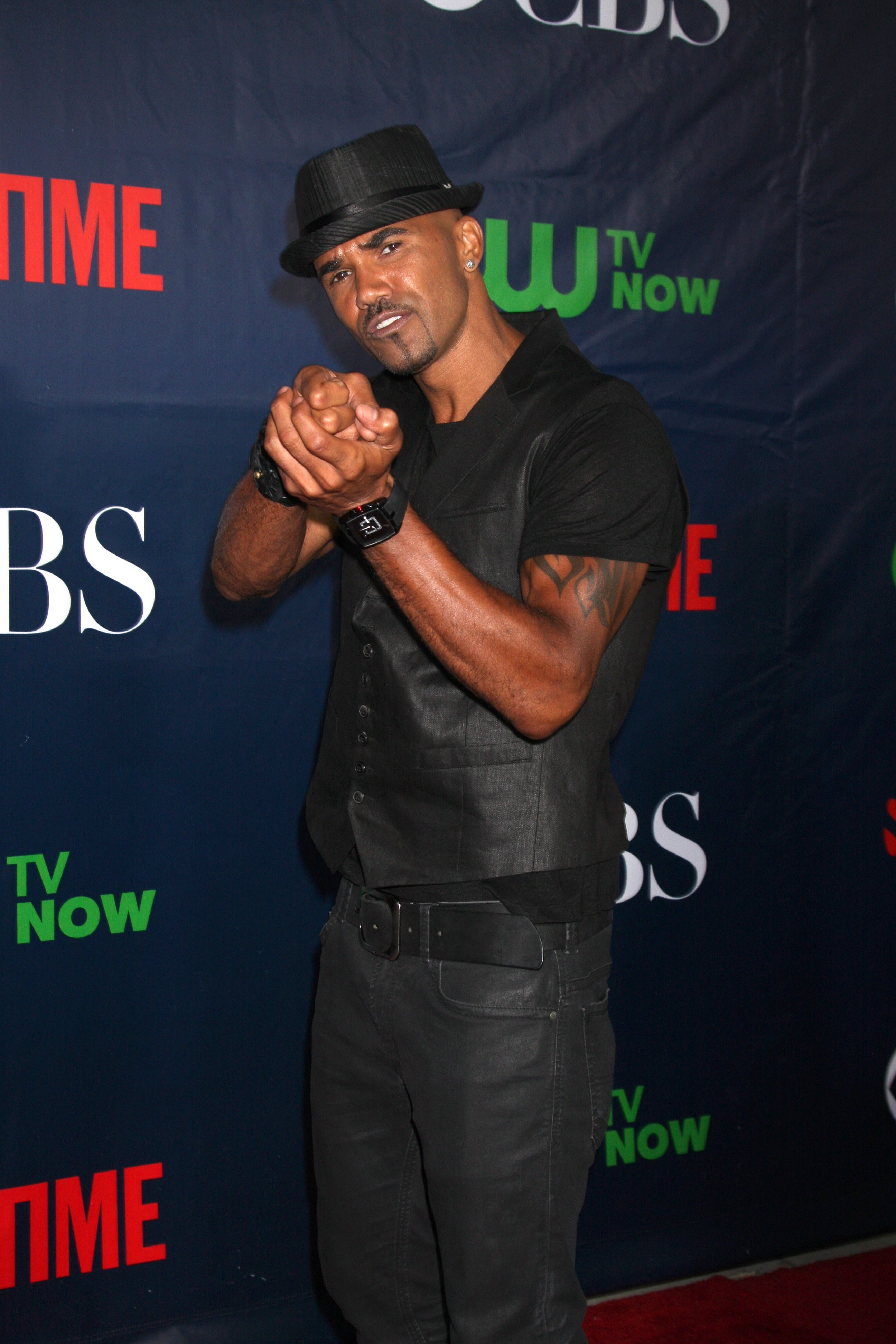 Shemar Moore at the CBS TCA July 2014 Party at the Pacific Design Center on July 17, 2014 in West Hollywood, CA / Source: Shutterstock