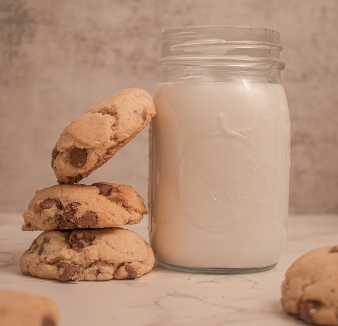 Too old for milk and cookies | Source: Unsplash