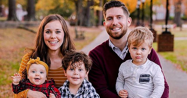 Jessa Duggar of 'Counting On' Fame Shares Adorable Clips of Her Family Playing the Game Hedbanz