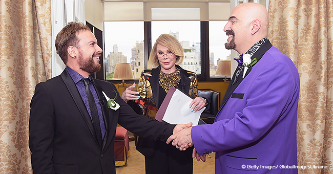 Joan Rivers Remembered by Gay Couple Reportedly Married by Her Just a Week before She Died
