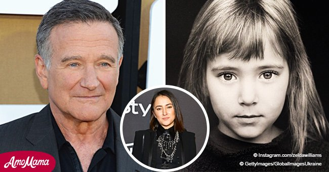 Robin Williams' Little Girl Zelda Is All Grown up and Looks Incredibly Gorgeous