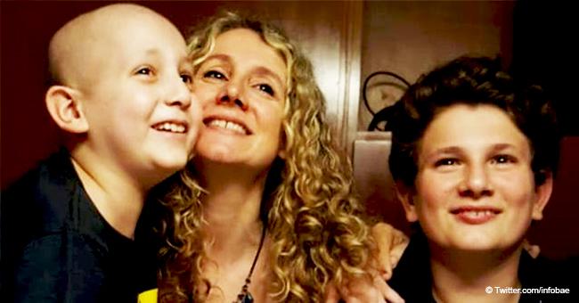 Niño de 10 años con cáncer comparte emotiva petición de ayuda para otro niño con misma enfermedad