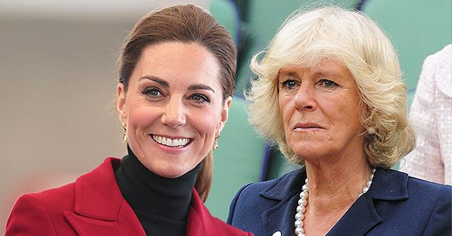 Les caméras ont surpris Kate Middleton, ignorant Camilla