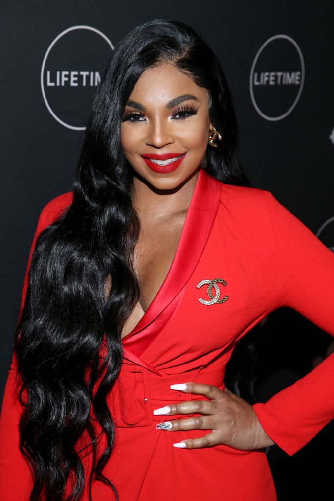 """Ashanti Douglas at the """"It's a Wonderful Lifetime"""" first holiday party of the year at STK Los Angeles on October 22, 2019.   Photo: Getty Images"""