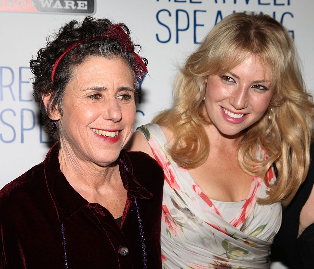 "Julie Kavner and Ari Graynor attending the Opening Night after-party for ""Relatively Speaking"" at the Bryant Park Grill in New York City on October 20, 2011. 