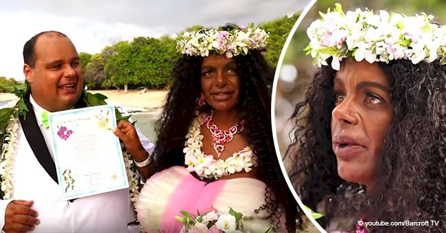 White model Martina Big who 'identifies as black' finally marries her high school sweetheart