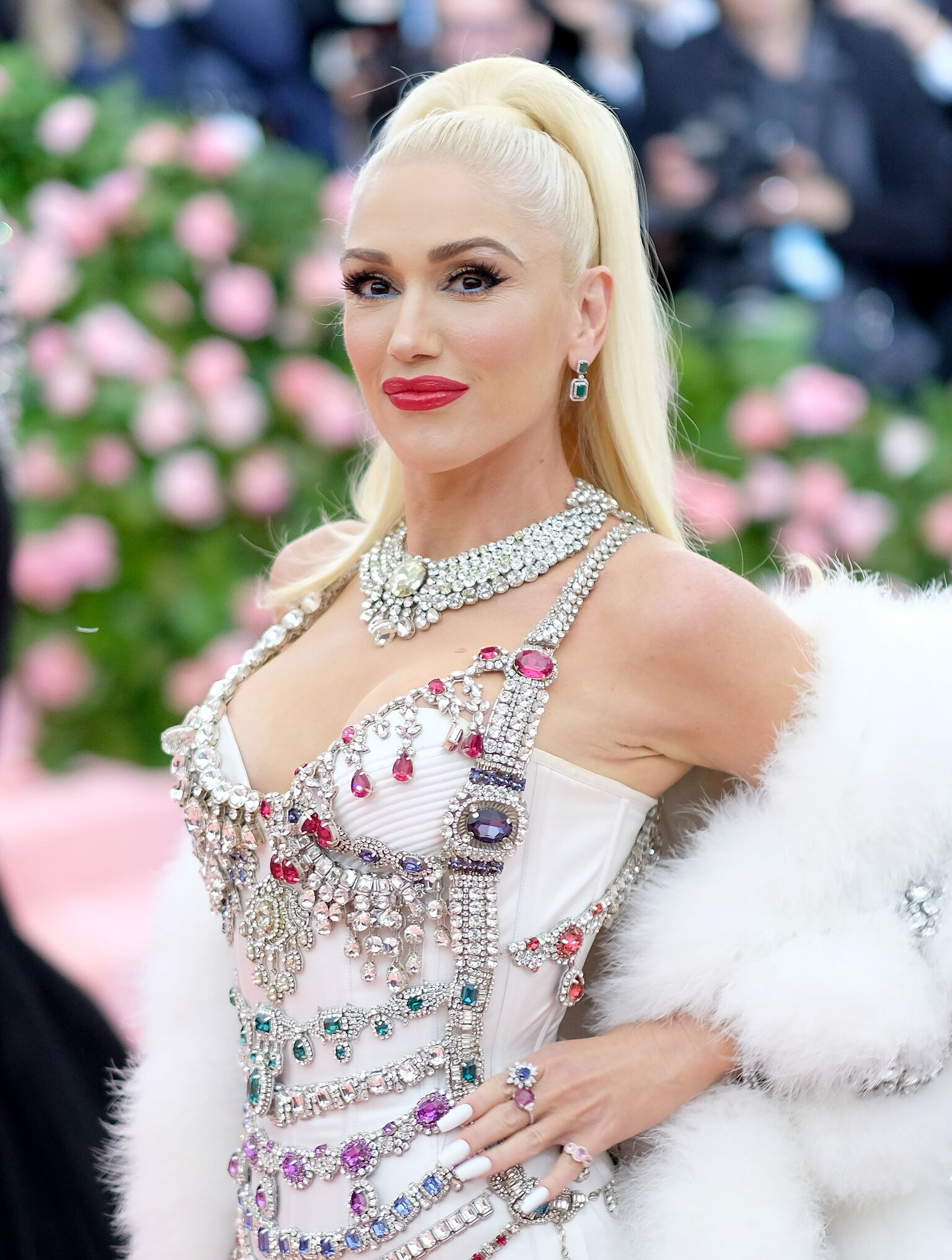 Gwen Stefani participe au camp de célébration du Gala du Met 2019 : Notes sur la mode au Metropolitan Museum of Art le 15 mai 2019 | Photo : Getty Images