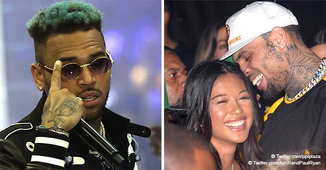Chris Brown hangs out with his rumored girlfriend in Paris before arrest for rape allegation