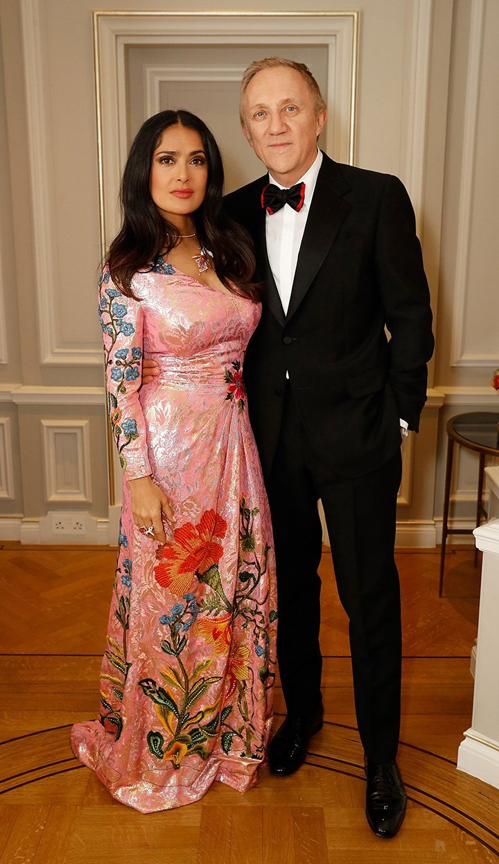 Salma Hayek and Francois-Henri Pinault. I Image: Getty Images.
