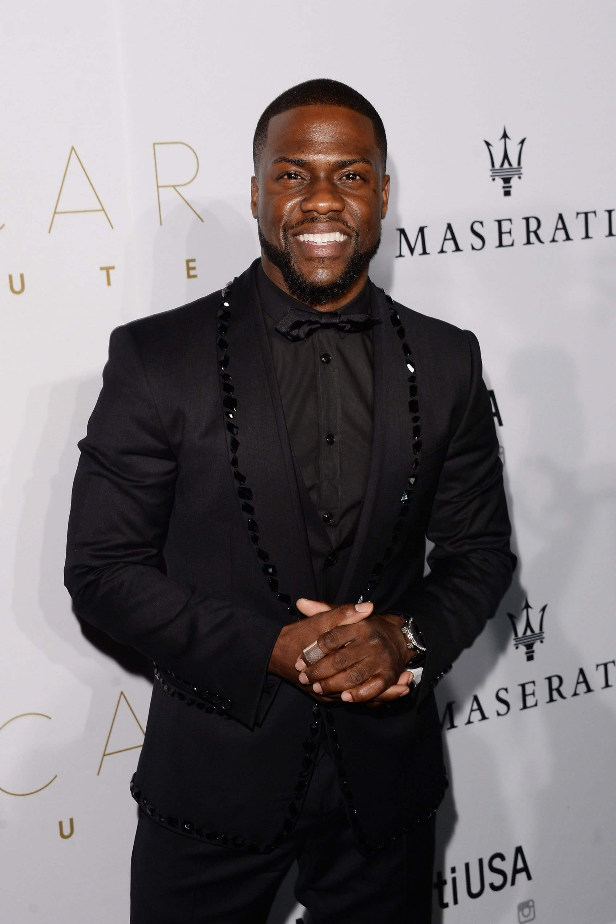 Kevin Hart at the 2016 Oscar Salute after-party at W Hollywood on February 28, 2016 in Hollywood, California.   Source: Getty Images