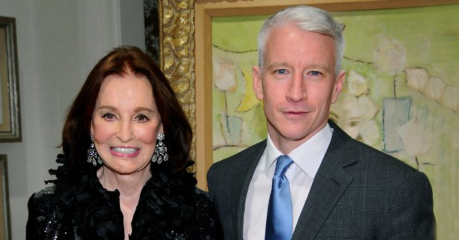 Fans Think Anderson Cooper's Son Wyatt Looks like the Anchorman's Mom Gloria in This Sweet Pic