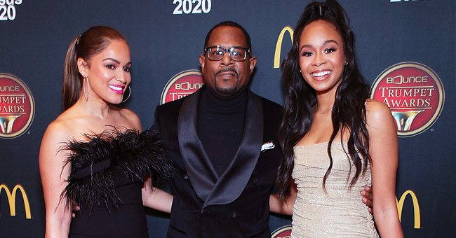 Martin Lawrence's Fiancée Roberta & Daughter Jasmine Step out in Gorgeous Gowns for the Bounce Trumpet Awards