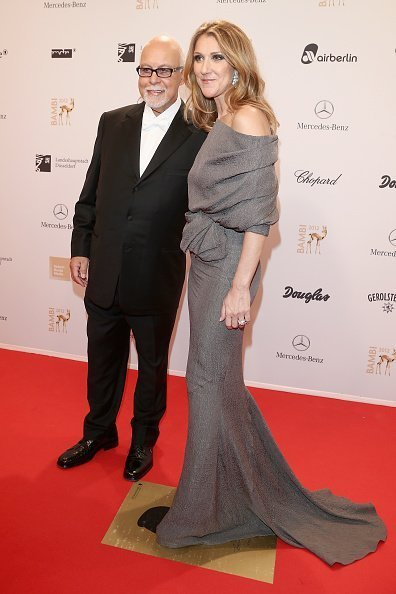 Celine Dion and Rene Angelil at the Stadthalle Duesseldorf on November 22, 2012 in Duesseldorf, Germany. | Photo: Getty Images