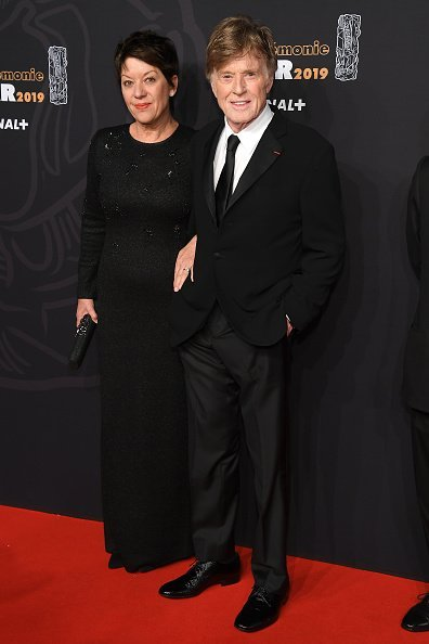 Robert Redford and wife Sibylle Szaggars at the Cesar Film Awards 2019 at Salle Pleyel on February 22, 2019 in Paris, France | Photo: Getty Images