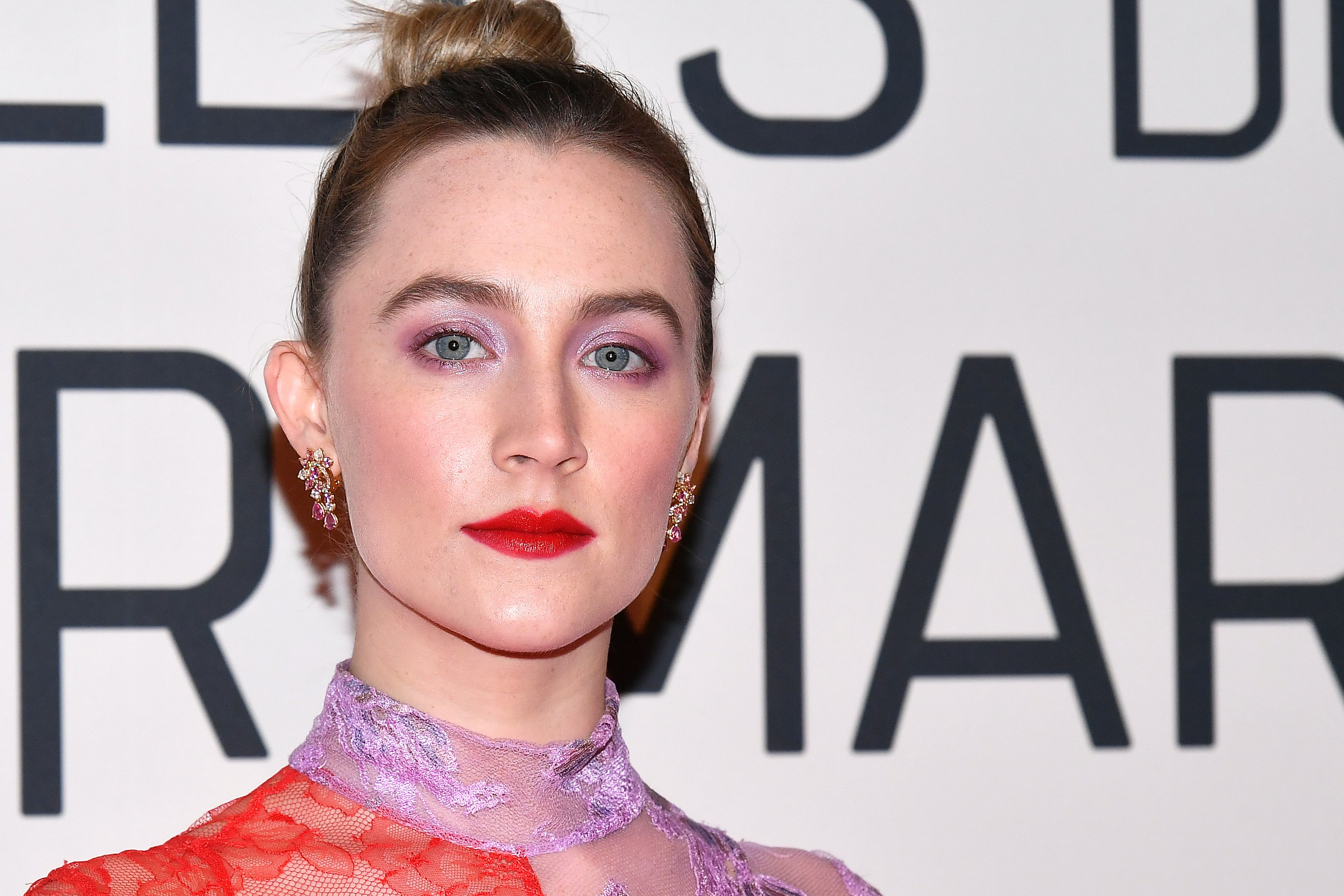 """Actress Saoirse Ronan will star in the 2020 film  """"Ammonite"""" with veteran actress Kate Winslet. 