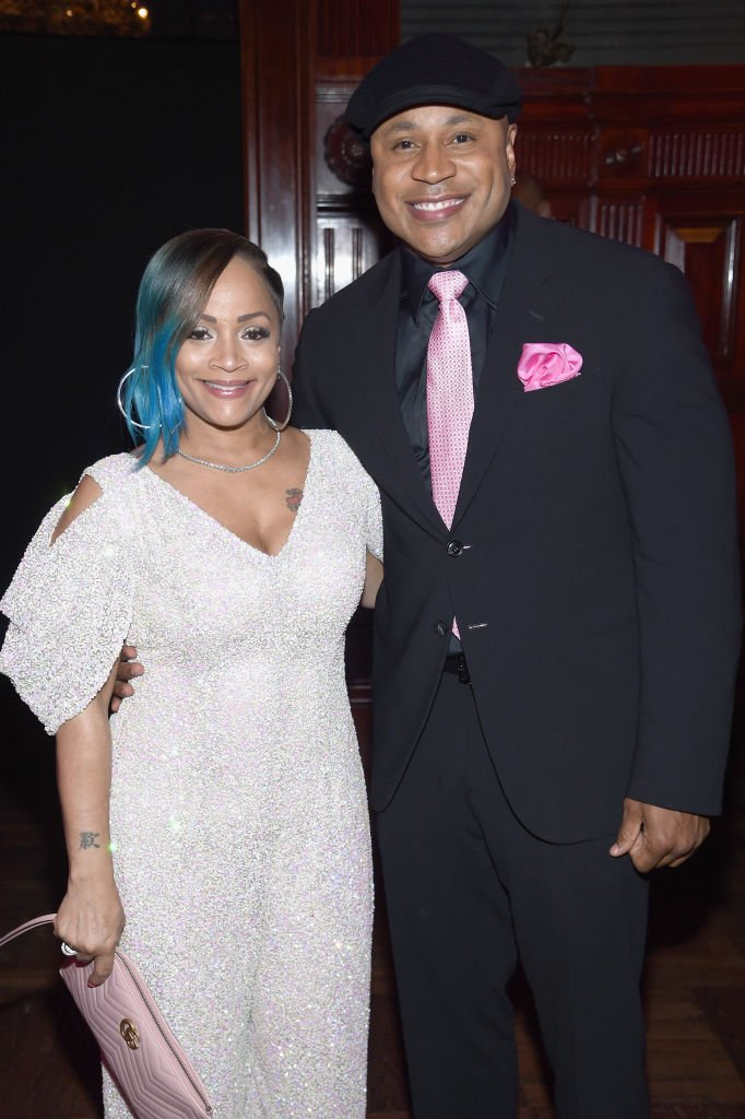 LL Cool J and his wife Simone Smith. I Image: Getty Images.