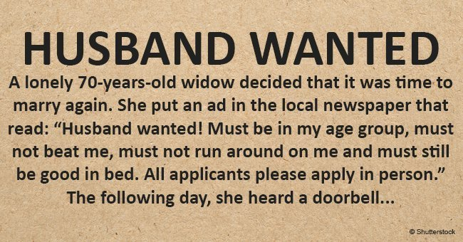 Husband Wanted!