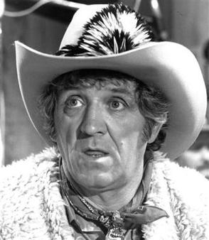 "George Lindsey in 1982 in ""Hee Haw"" 