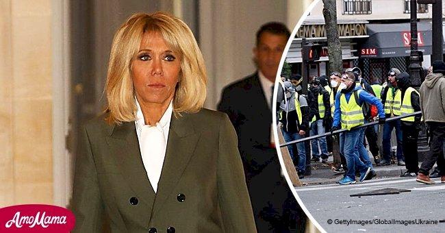 Brigitte Macron est obsédée par le mouvement des gilets jaunes: 'Elle comprend la colère'