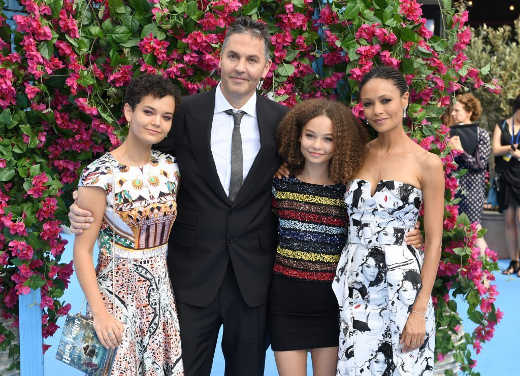 Thandie's family in London on July 16, 2019 | Source: Getty Images