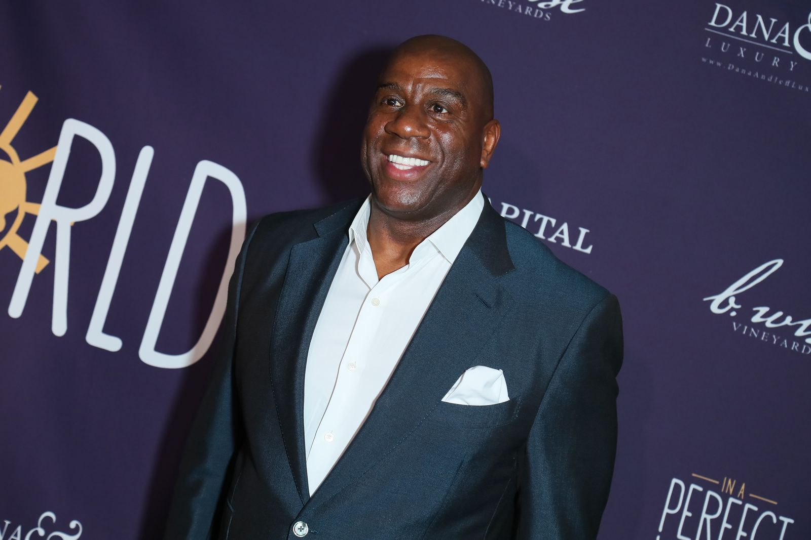 Earvin Magic Johnson at Manuela Testolini And Eric Bent Present An Evening Of Music, Art And Philanthropy on March 03, 2019 | Photo: Getty Images
