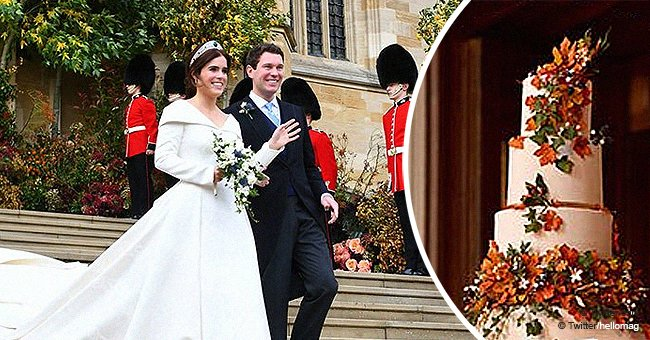 Princess Eugenie and Jack Brooksbank's wedding cake is even more stunning than we imagined