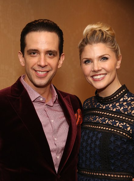 Nick Cordero and Amanda Kloots at The Marriot Marquis Hotel on December 1, 2016 in New York City. | Photo: Getty Images