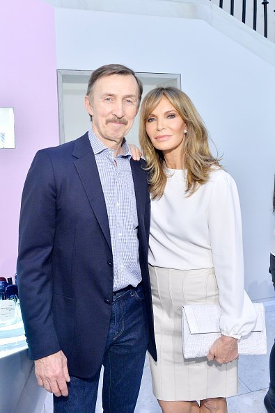 Brad Allen and Jaclyn Smith at Barneys New York Beverly Hills on May 23, 2018 in Beverly Hills, California | Photo: Getty Images