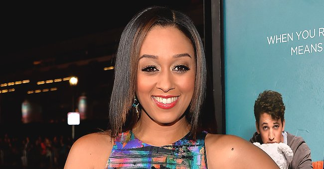 Tia Mowry's Daughter Cairo Enjoys Jumping on Her Bed in a Cute White Dress (Video)