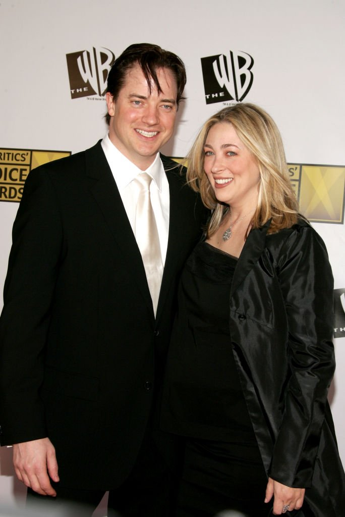Brendan Fraser and Afton Smith on January 9, 2006 in Santa Monica, California | Source: Getty Images