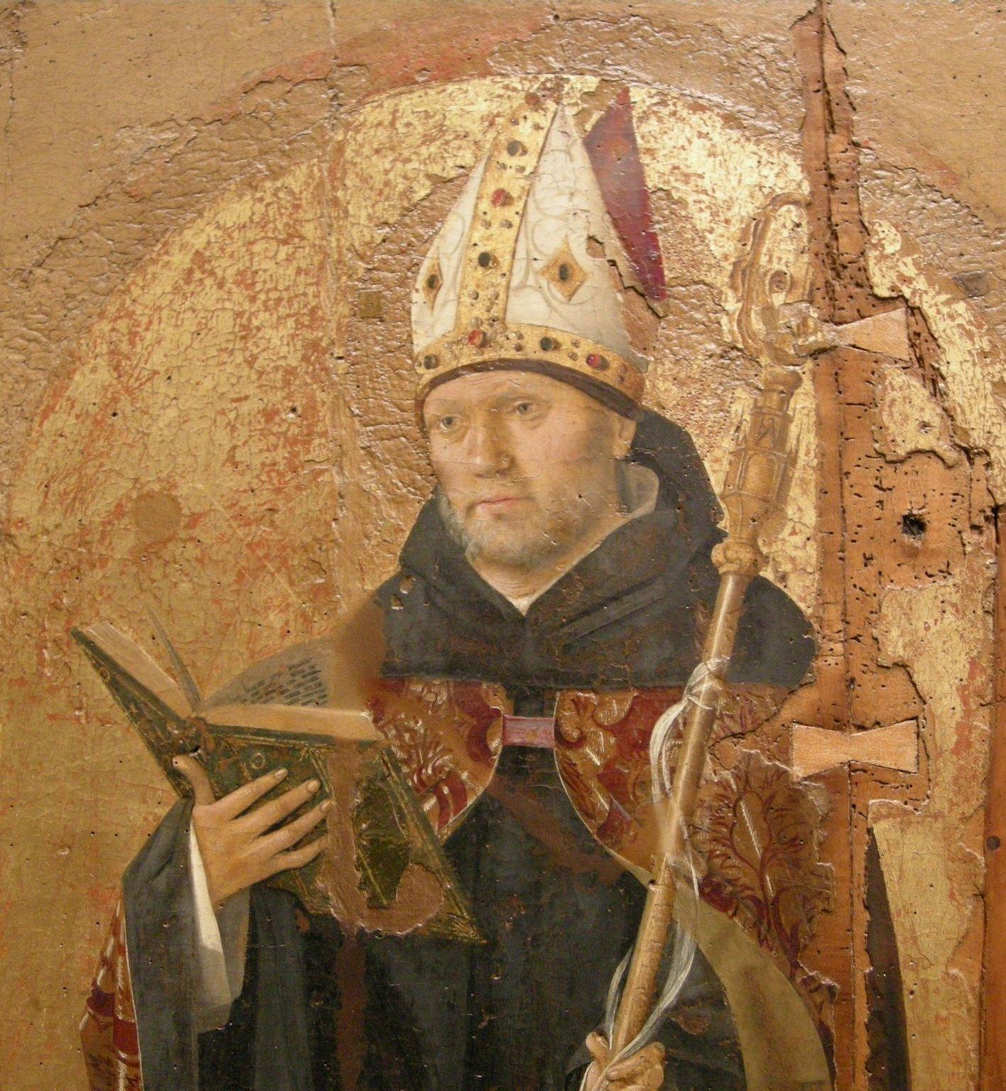 Sus obras se convirtieron en el primer alimento espiritual de la Edad Media.| Fuente: Wikipedia
