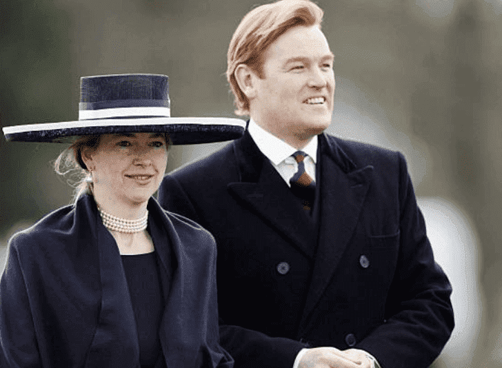 Tiggy Legge-Bourke and Mark Dyer arrive at the Sovereign's Parade at Sandhurst Military Academy, on April 12, 2006 in Surrey, England | Source: Tim Graham Photo Library via Getty Images