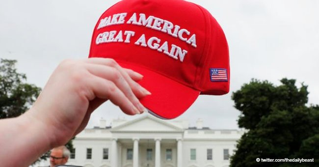 Brazilian Woman Faces Deportation after Video Shows Her Knocking a Man's MAGA Hat off His Head