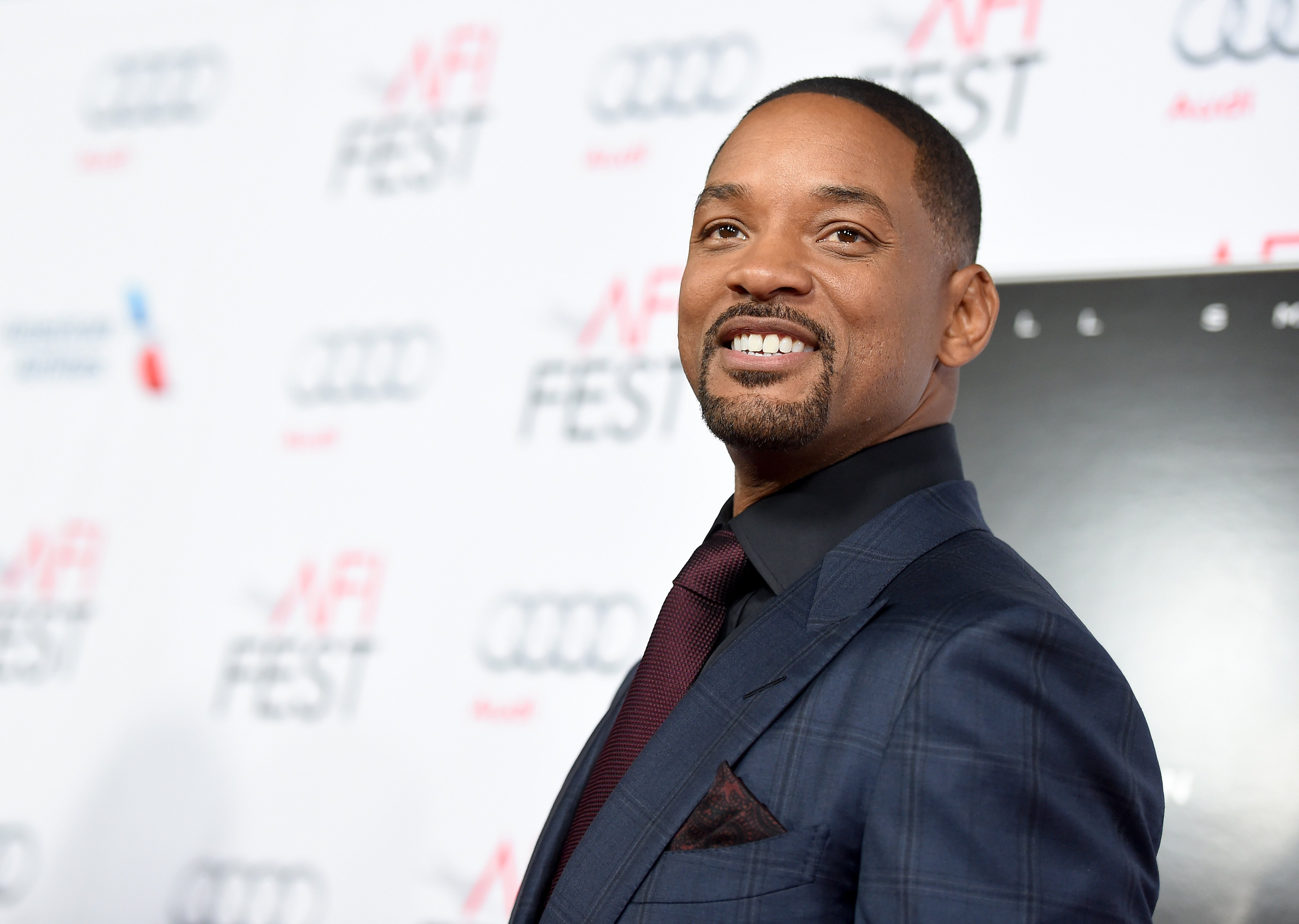 "Will Smith at the Centerpiece Gala Premiere of ""Concussion"" during AFI FEST 2015 on Nov. 10, 2015 in California 
