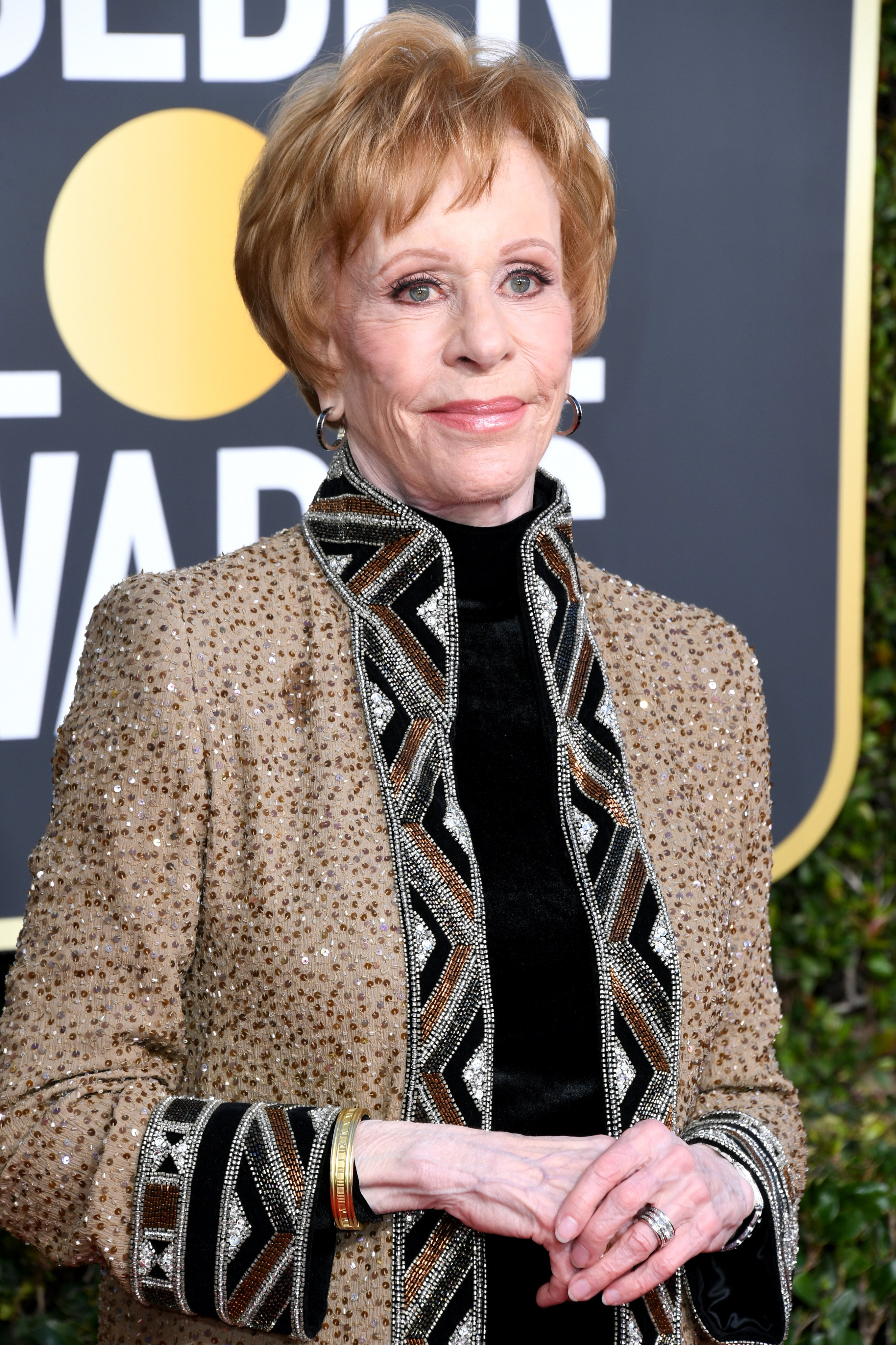 Carol Burnett attends the 76th Annual Golden Globe Awards on January 6, 2019, in Beverly Hills, California. | Source: Getty Images.