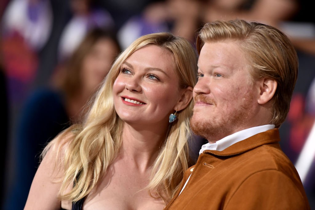 """Kirsten Dunst and Jesse Plemons pictured at the Premiere of Netflix's """"El Camino: A Breaking Bad Movie,"""" 2019, Westwood, California.   Photo: Getty Images"""