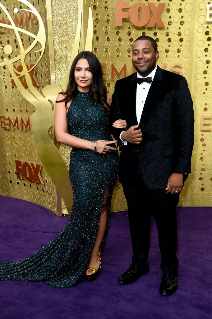Christina Evangeline and Kenan Thompson at the 71st Emmy Awards in 2019 | Source: Getty Images