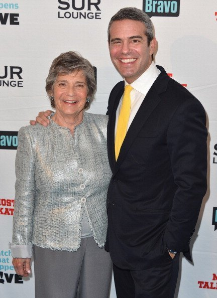 Evelyn Cohen and Andy Cohen at SUR Lounge on May 14, 2012 in Los Angeles, California | Photo: Getty Images
